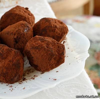 Сладкоежкам - Шоколадные трюфели