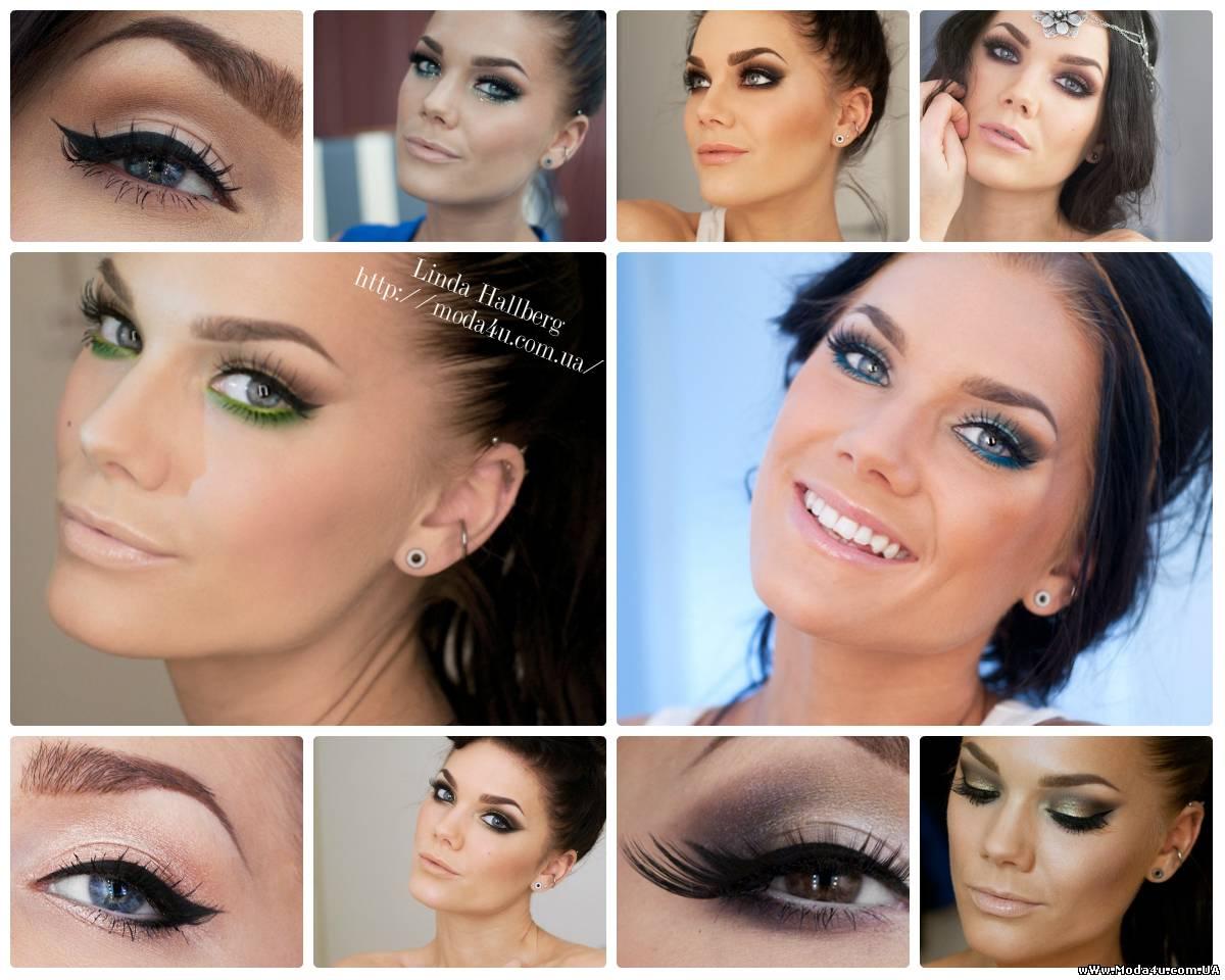 Идеи для макияжа от Линды Халберг ( Linda Hallberg )