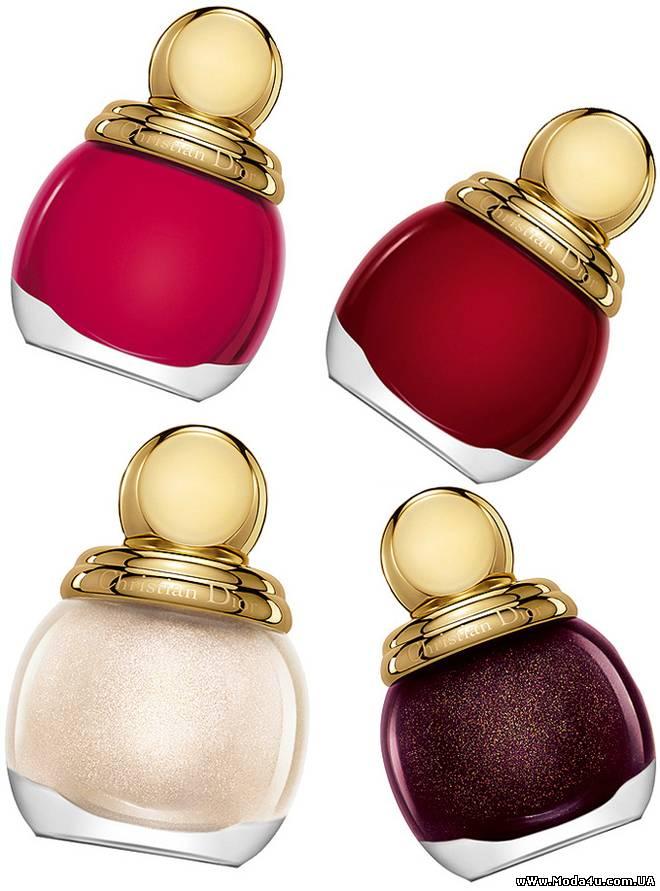 Golden Winter рождественская коллекция от Dior